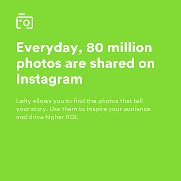 Lefty.io – sell your Instagram pictures