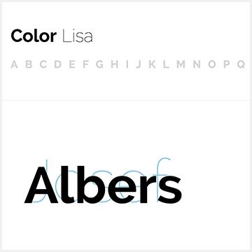 Color Lisa – Color palette masterpieces