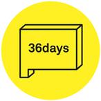 36 days of type logo