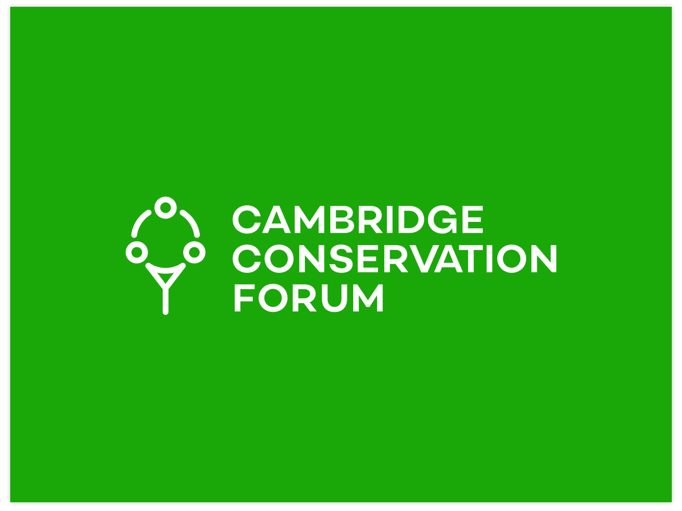 Cambridge Conservation Forum bespoke brand design, by Chiara Mensa