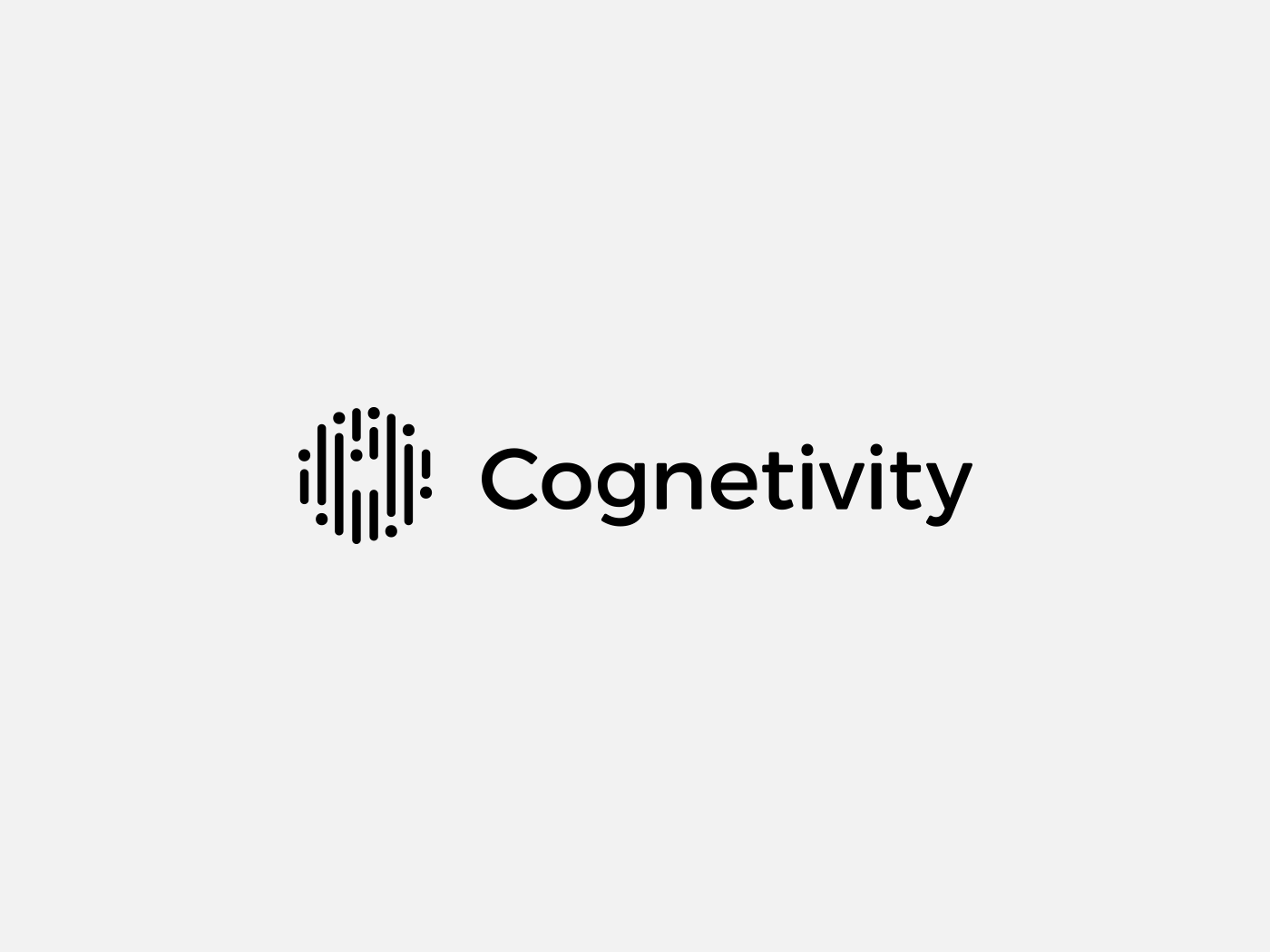 Cognetivity secondary logo, black