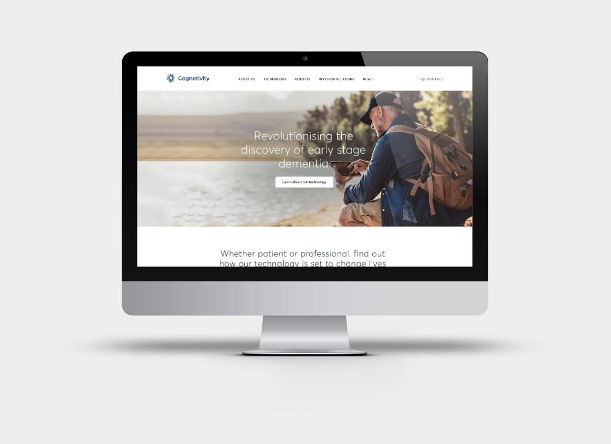Cognetivity homepage