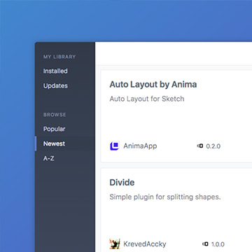Browse, manage, and auto-update your Sketch plugins from the menu bar