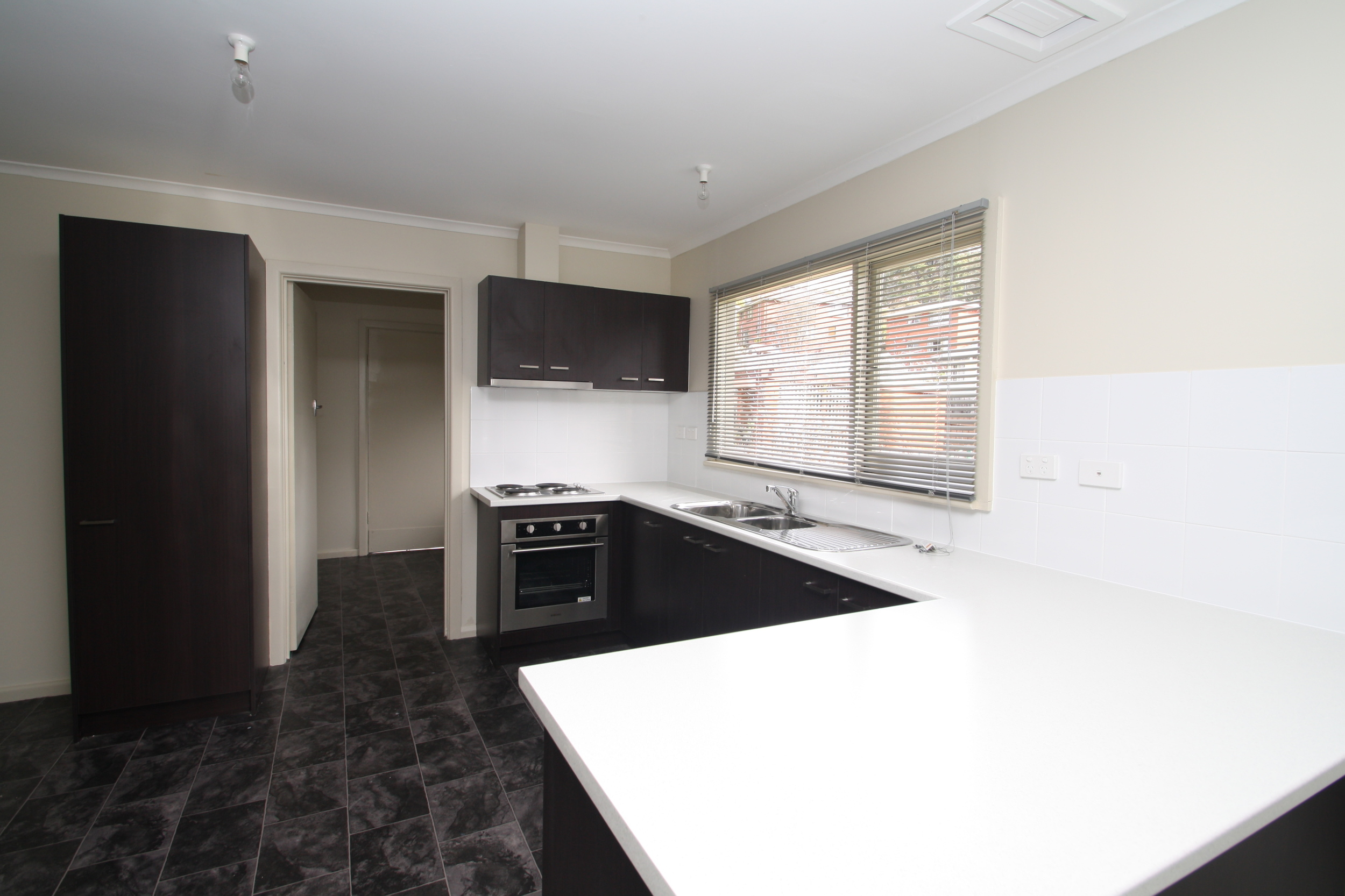 A brand new kitchen - part of the complete refurbishment.