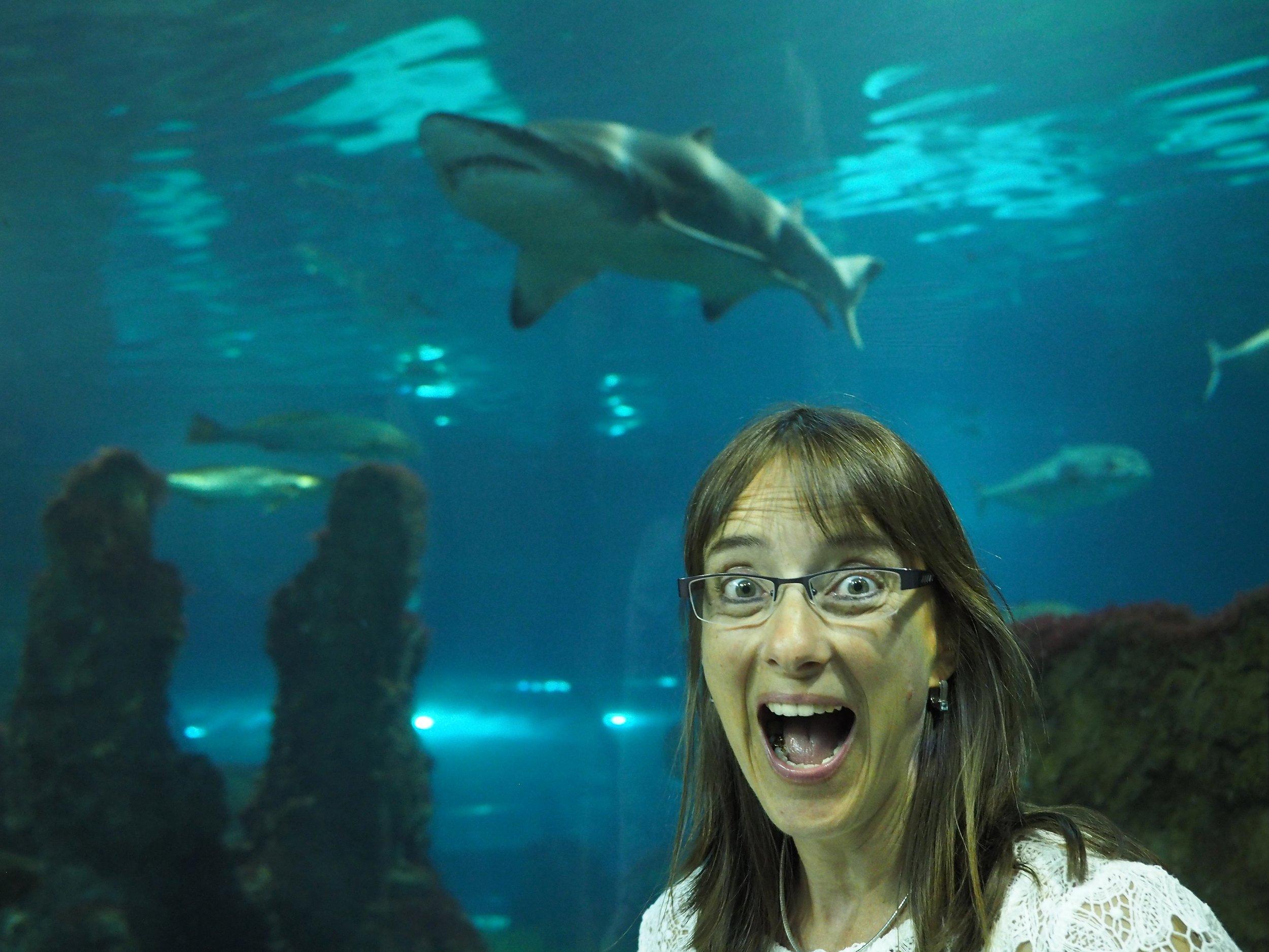 Und hier ein Beweisfoto, dass auch ich meine verrückten Fotomomente habe...