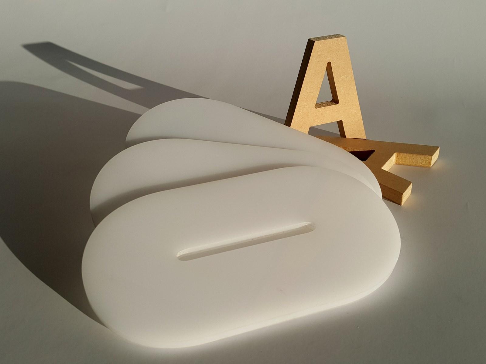 3d laser cut Lettering