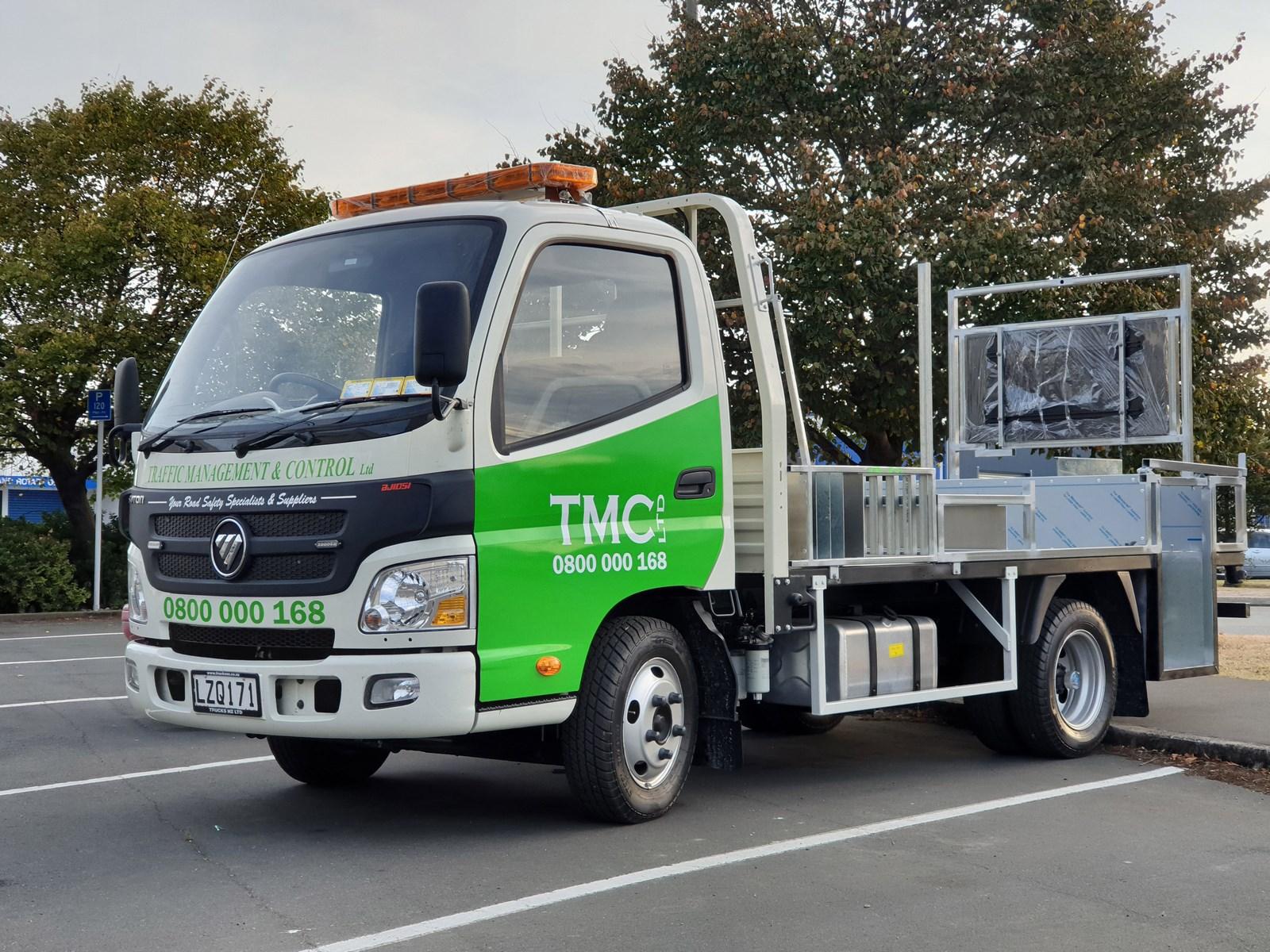 TMC truck signage