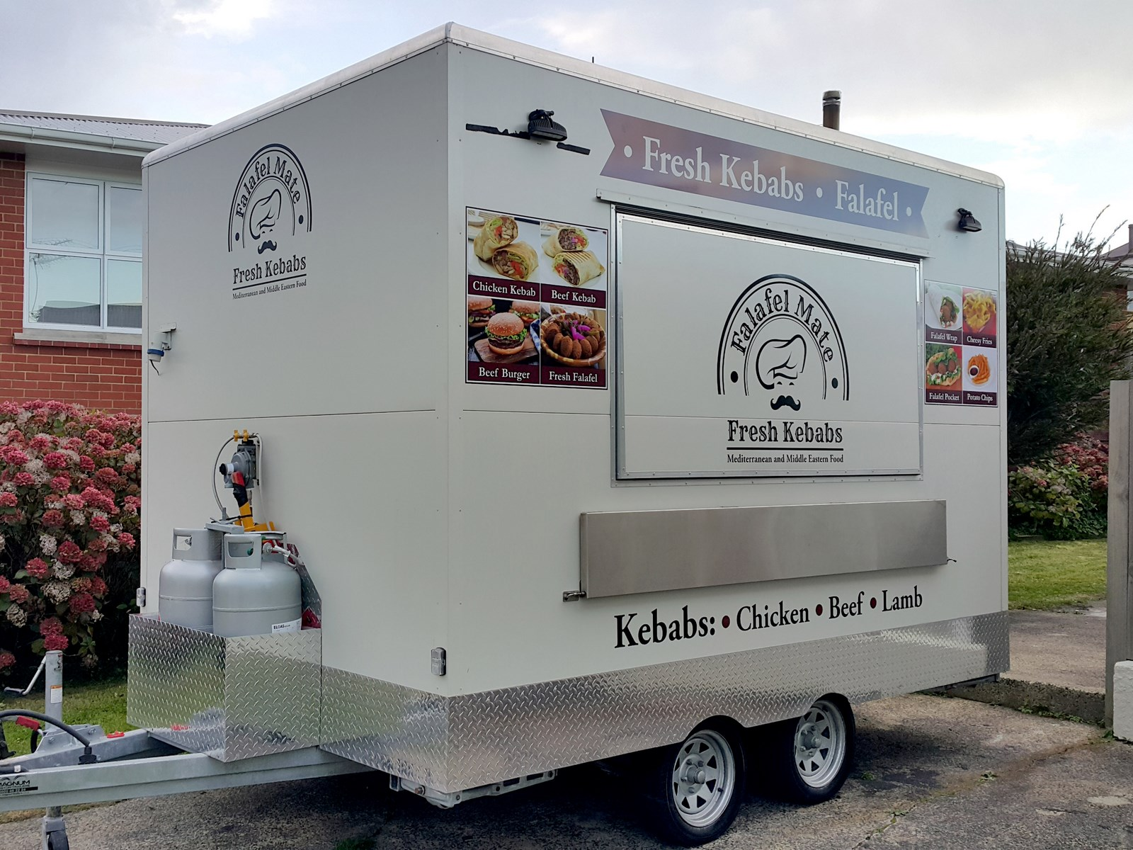 Kebab Food truck full wrap and signage