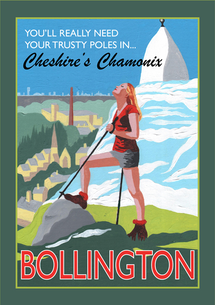 Bollington Poster by Eric Jackson