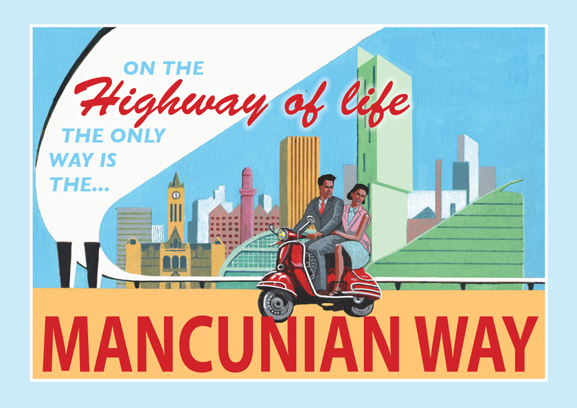 The MANCUNIAN WAY, by Eric Jackson, www.statementartworks.com