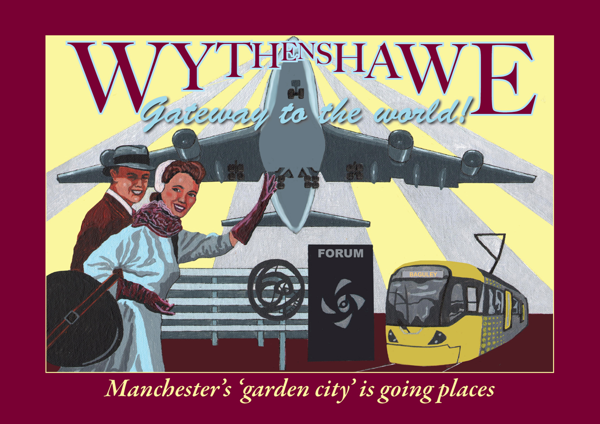 Wythenshaw poster - by Statement Artworks