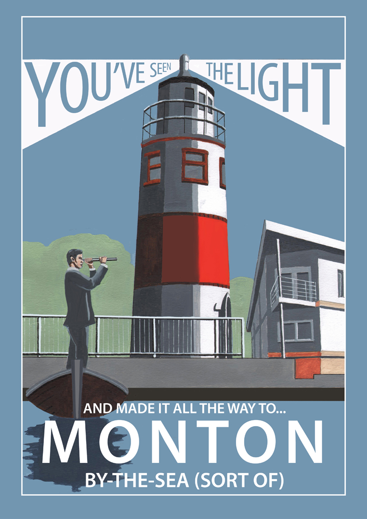 Monton poster by Statement Artworks