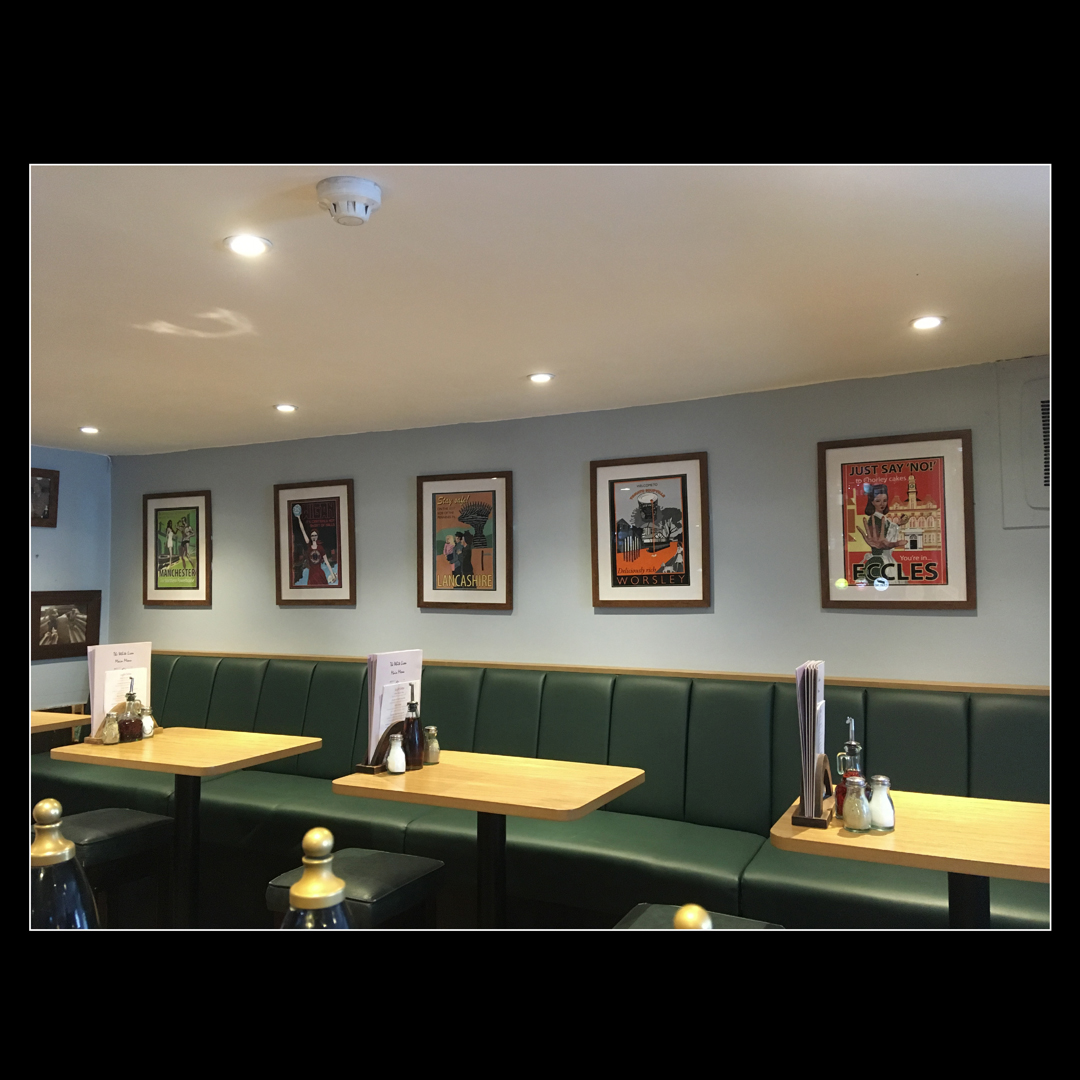 My pictures in the new White Lion extension