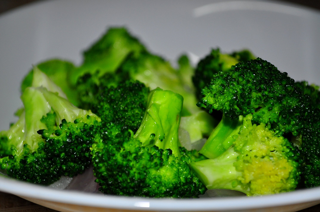Broccoli is an extra source of vitamin K