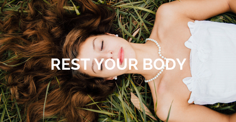 Exercise is key and helps speed fresh oxygen to your skin which is required for a healthy natural glow.