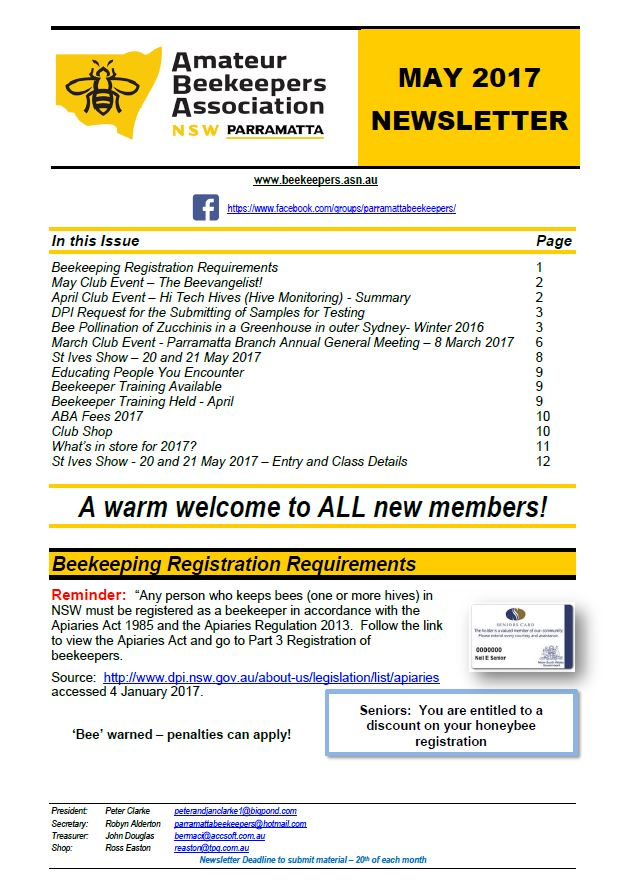 Click here to download the full newsletter