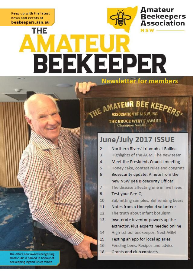 Click here to open The Amateur Beekeeper