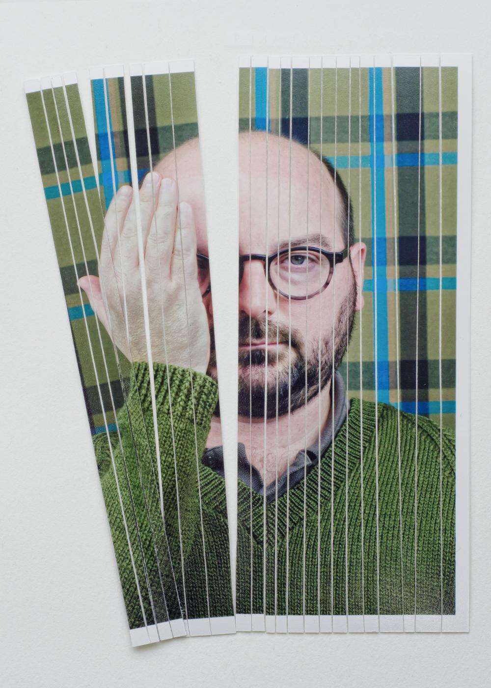 Self Portrait (cut up)