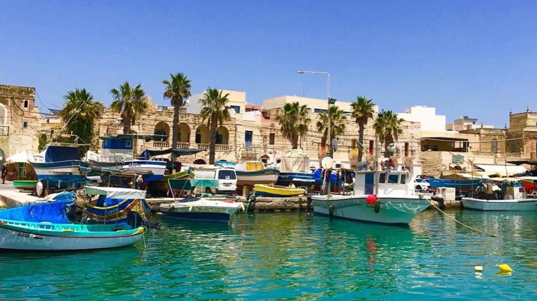 Marsaxlokk, Malta.