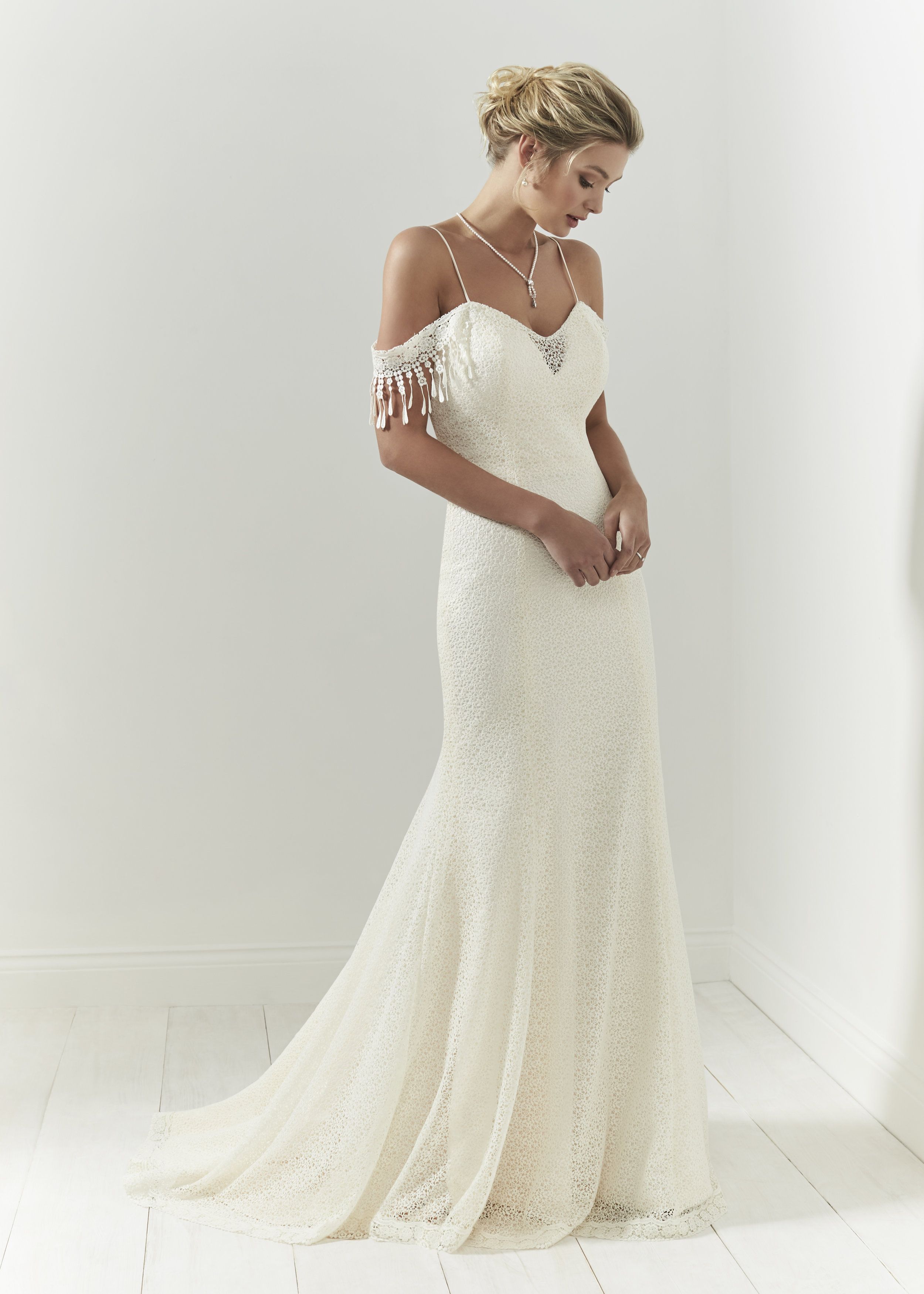 PeachLeaf by Olivia Rose Bridal - available now to try!