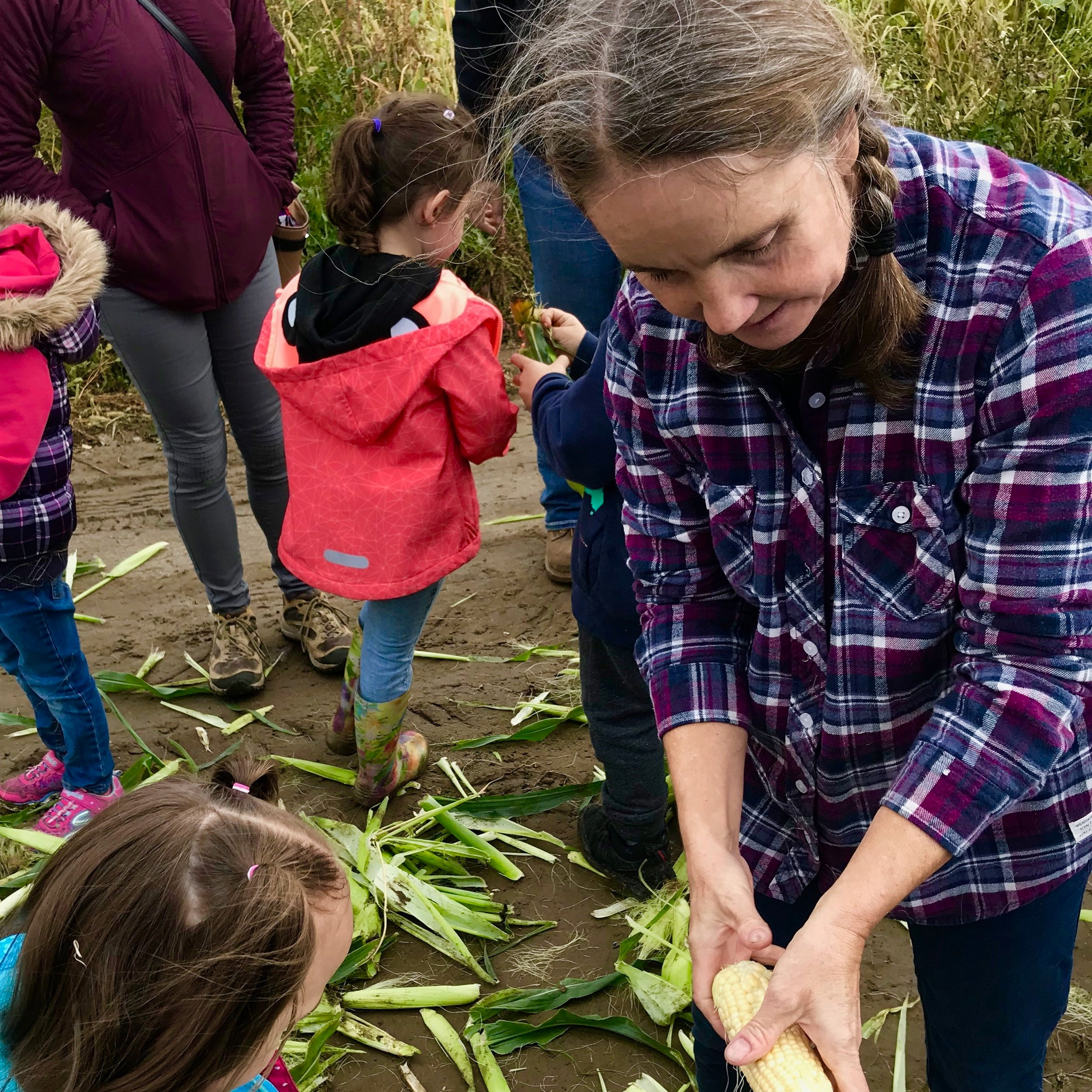 Michelle Starcic - Michelle began working on Covert Farms in 1992, she and Shelly have worked together for over 20 years. Michelle went to Permaculture school and started her own organic farm on Cortez Island for eight years. In 2009 she and her family moved back to the Okanagan and purchased a farm just down the hill from Covert Farms. Michelle now runs her own organic farm and is an Organic Verification officer. We are so blessed to have her come back each year to share her passion and knowledge