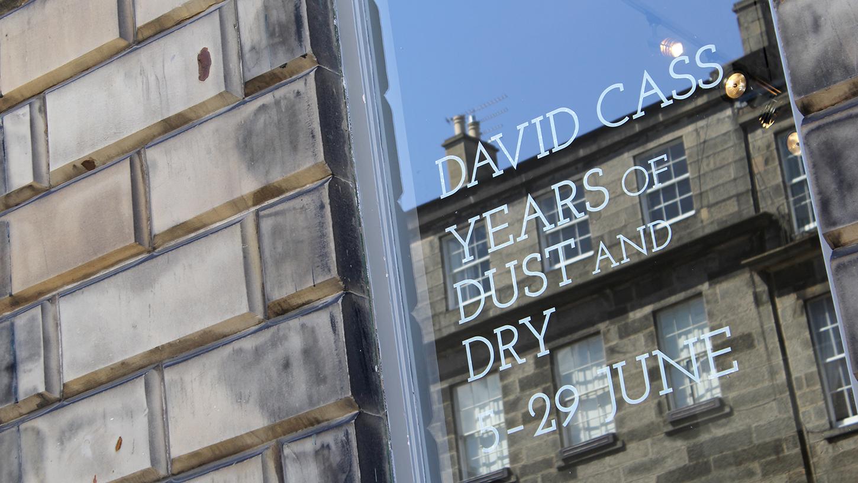 Years of Dust & Dry, The Scottish Gallery, Edinburgh. 1