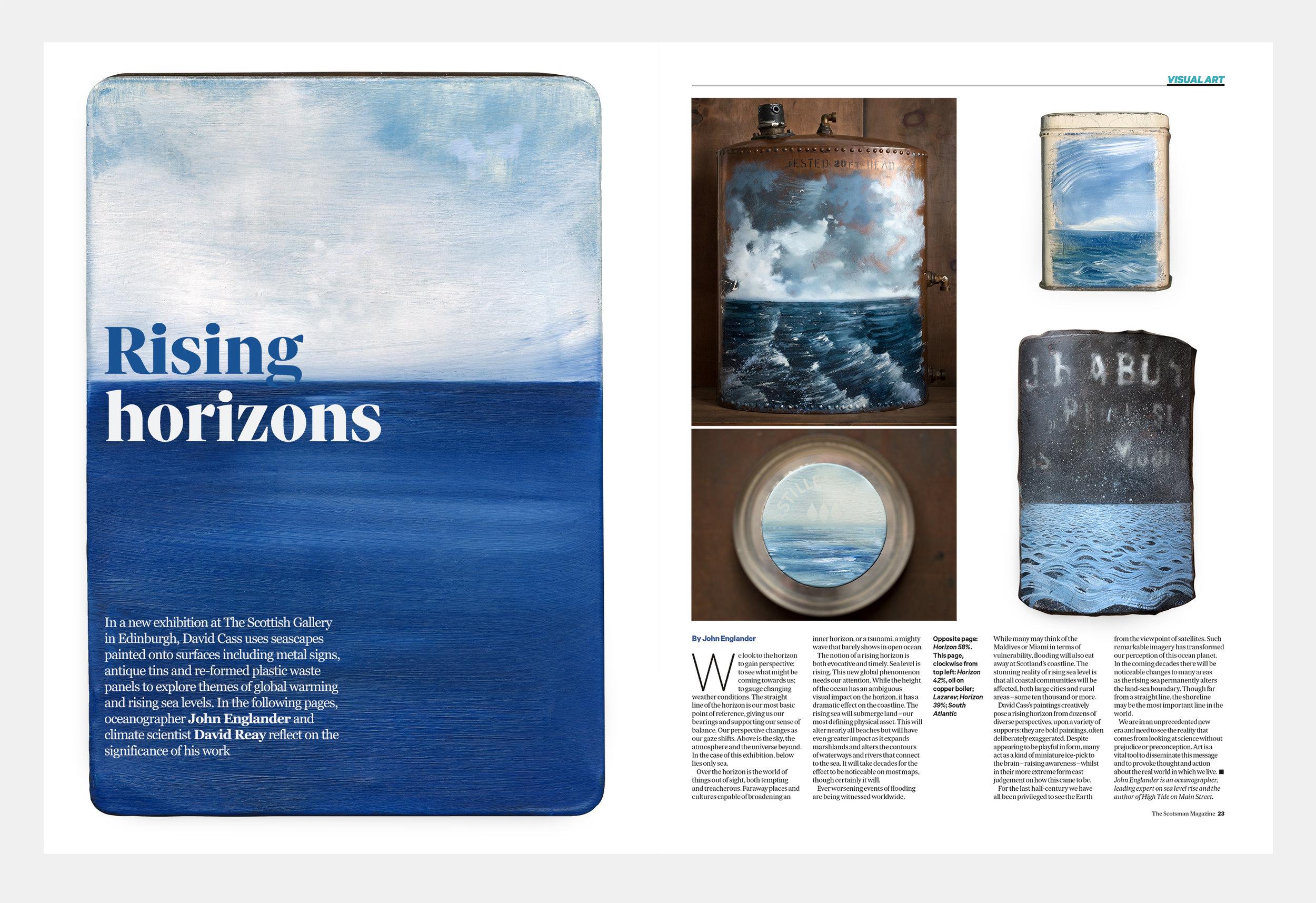 The Scotsman Magazine, David Cass