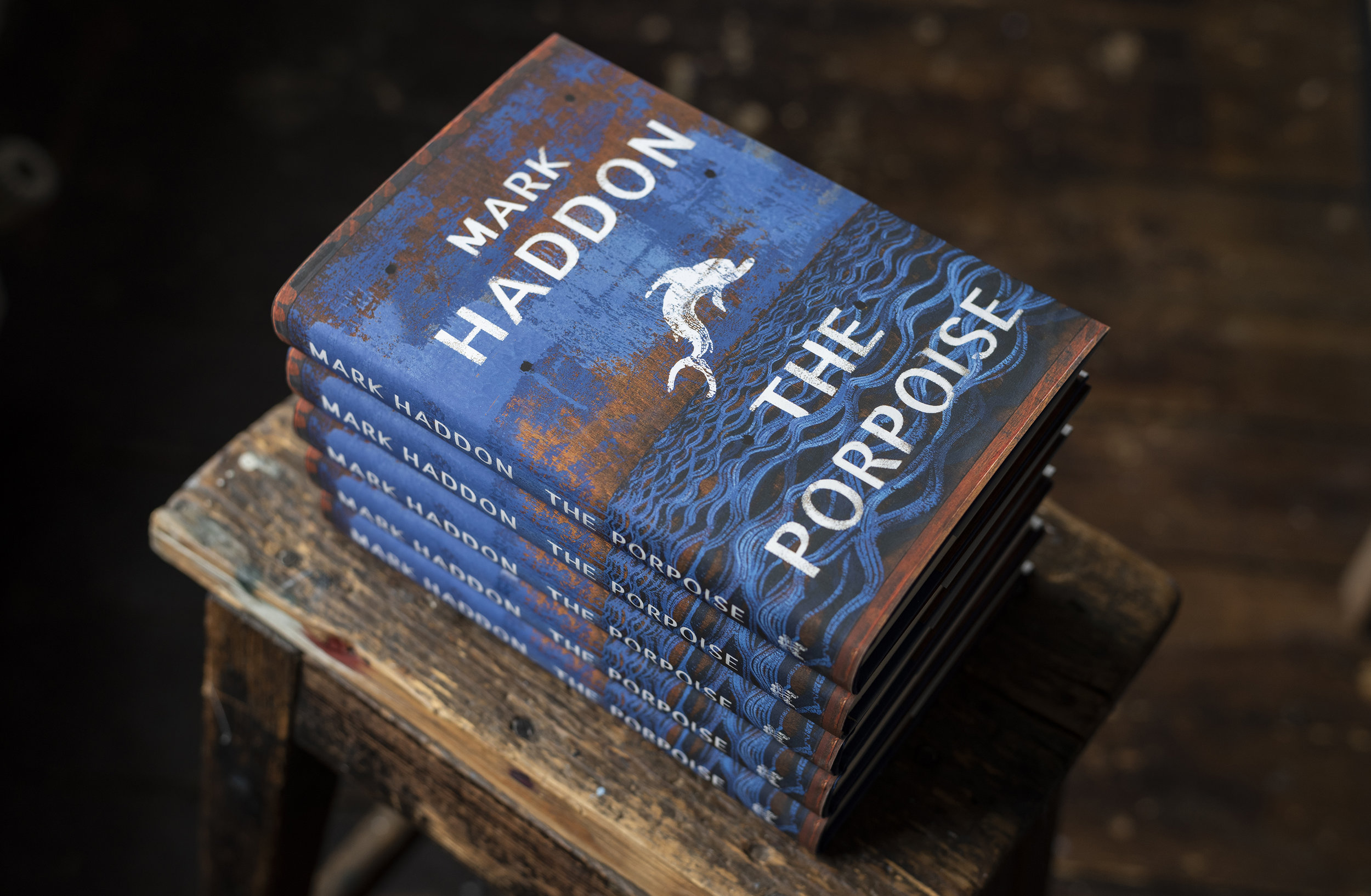 The Porpoise Design, Mark Haddon, cover by David Cass and Suzanne Dean