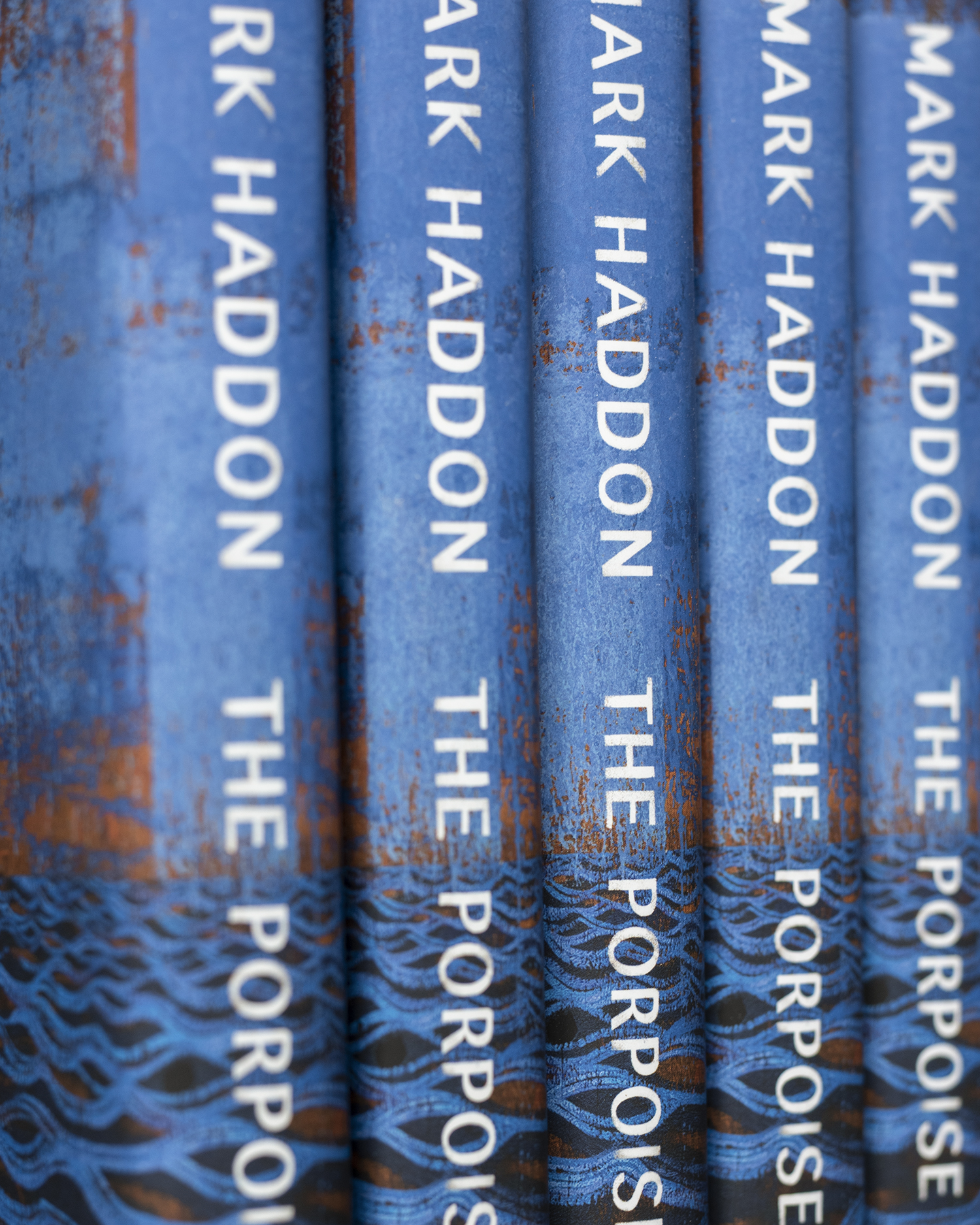 The Porpoise Spines by Mark Haddon, design David Cass and Suzanne Dean