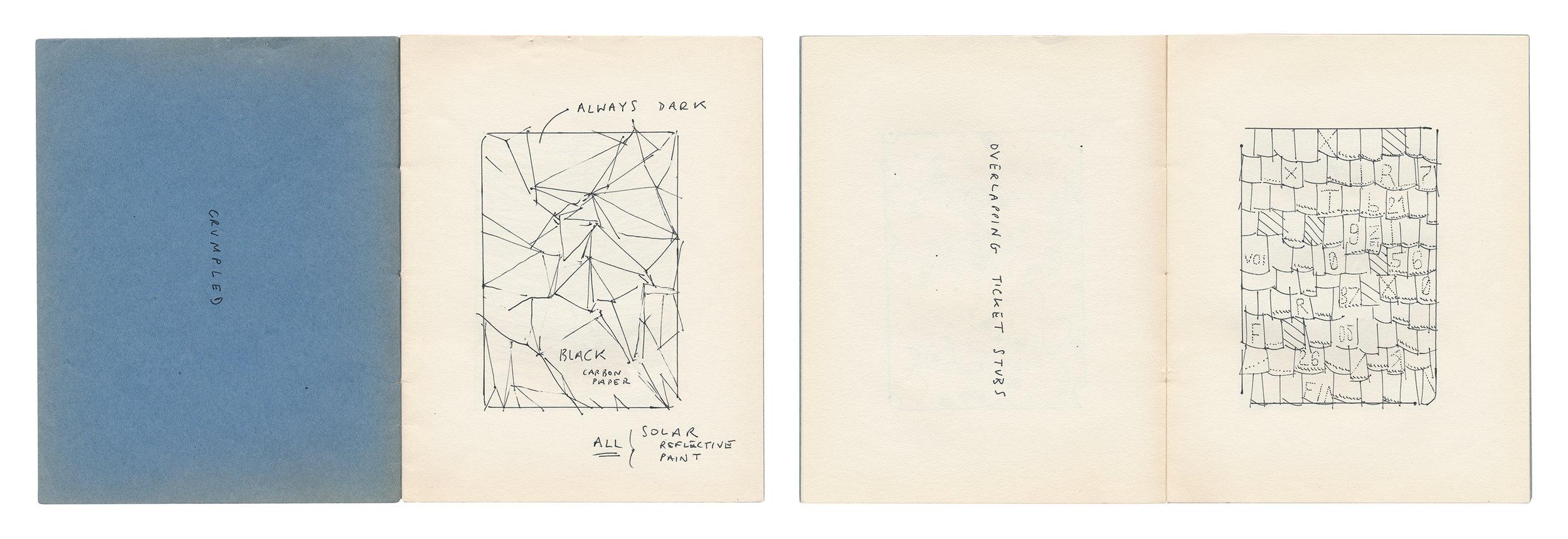 Sketchbook  2018 Studies for  Arrangements  (found sketchbook)
