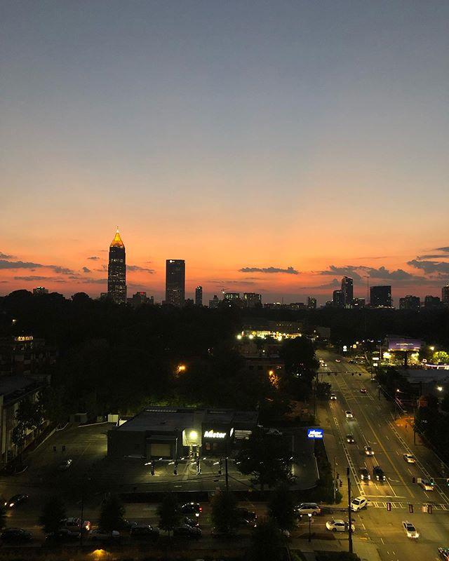 Atlanta, you're pretty.