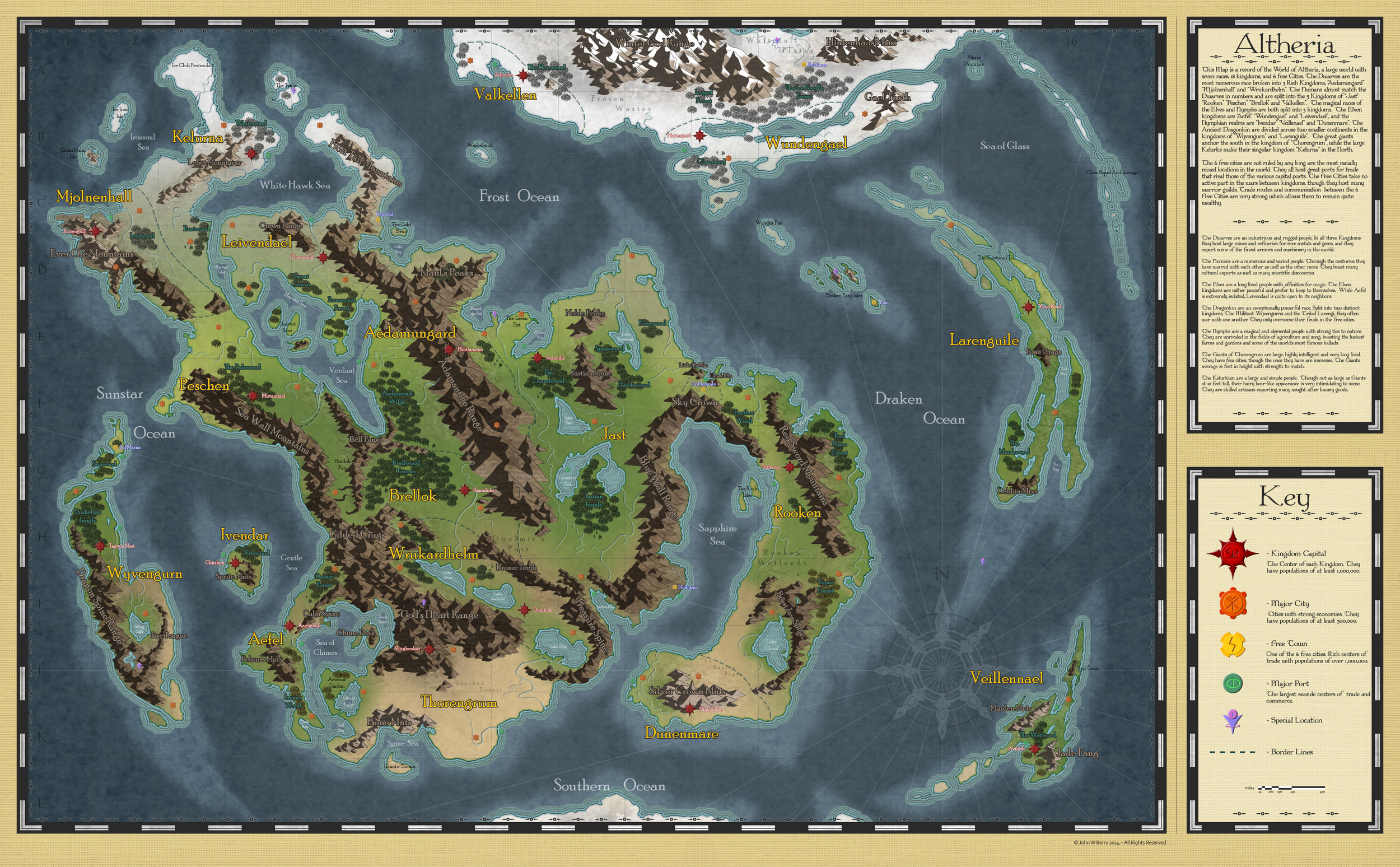 Map of Altheria