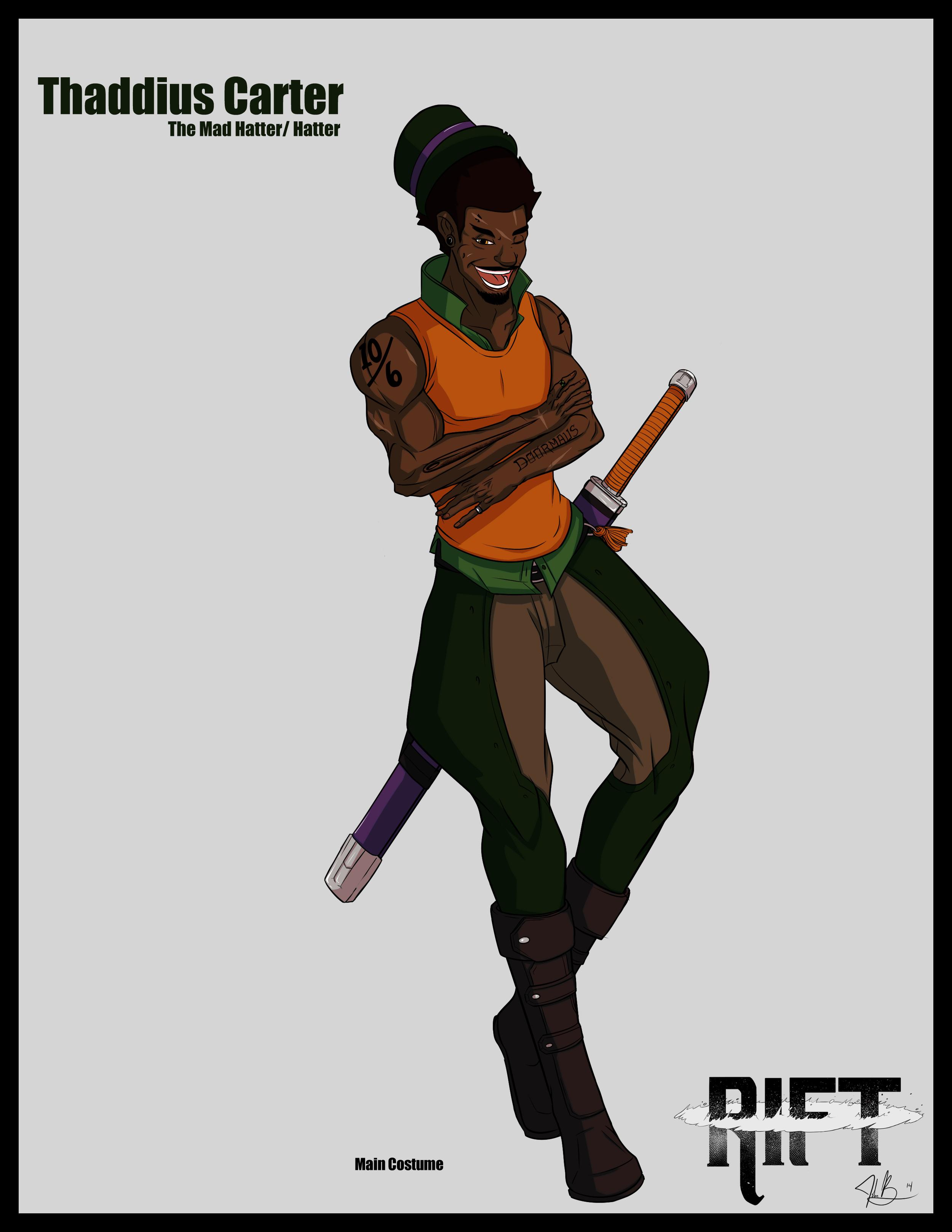 RIFT - Thaddius Carter the Mad Hatter