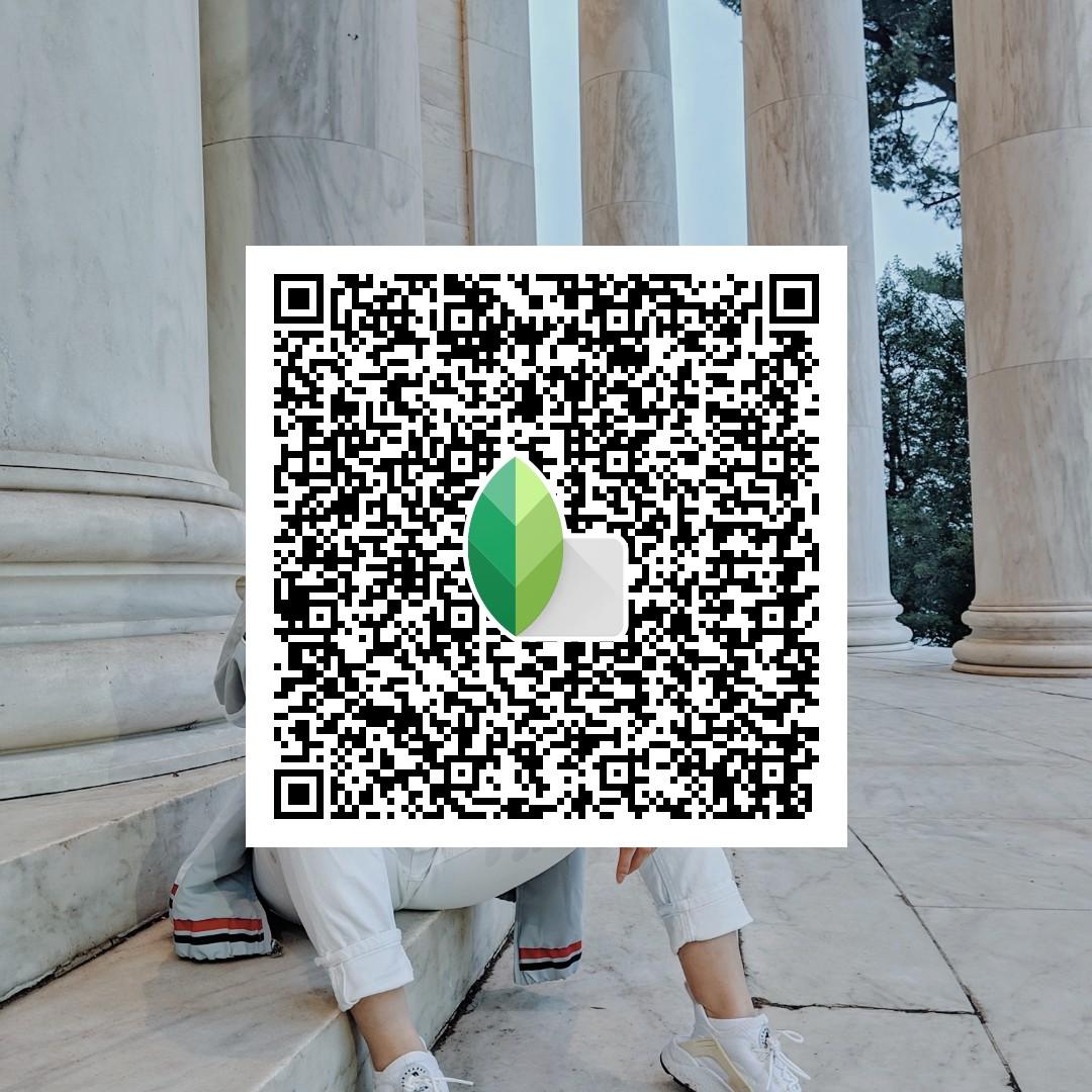 SIMPLYTEEE PRESET - Simply scan the QR Look in Snapseed to use
