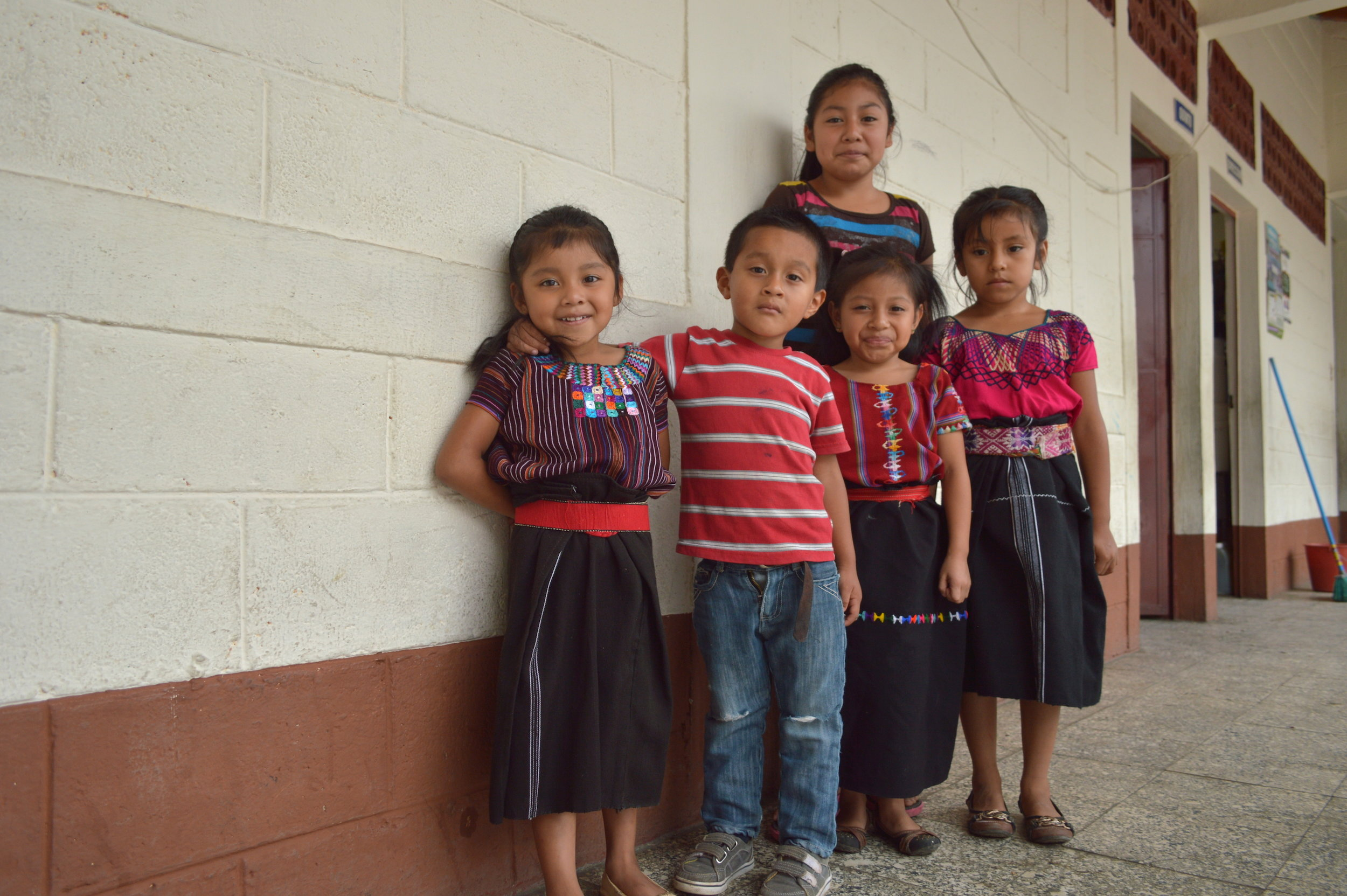 Children from San Juan la Laguna School