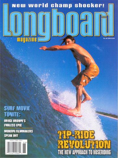 Longboard Magazine /// Cover