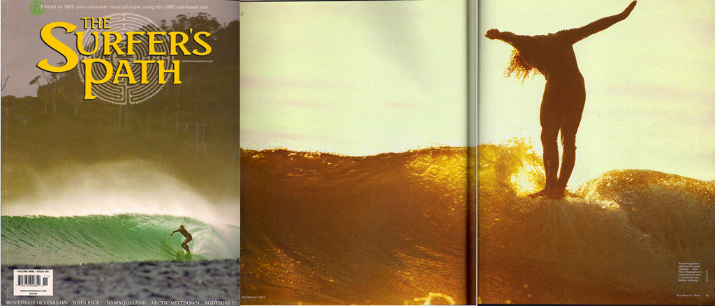 The Surfer's Path /// Double Page Spread