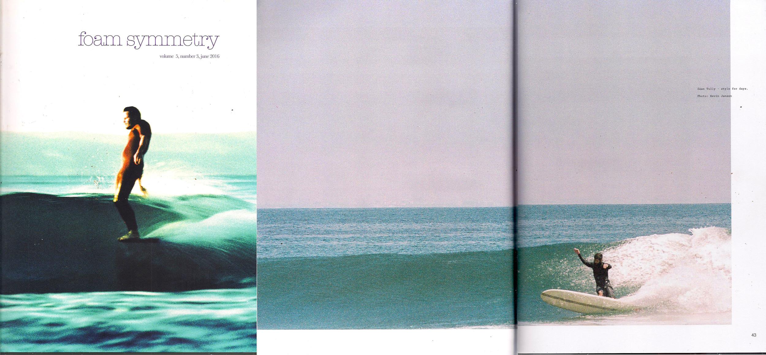 Foam Symmetry Magazine /// Double Page Spread