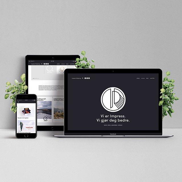 Vi ❤️ å lage nettsider!  Våre designere lager mange fine nettsider for kunder - og nå har de også pusset opp vår egen.✨ Er du nysgjerrig på hvem vi er, hva vi gjør og hvordan vi lager nettsider? 👉www.impresspublisering.no