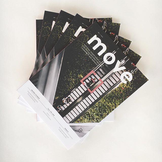 Herlig med gode sommerkvelder, og godt med travle arbeidsdager 🙌🏼 Våre venner i NKB står bak magasinet Move. Vi har bidratt med grafisk profil og layout, og synes den siste utgaven av Move ble ganske så fresh 😀 Vi gleder oss til hva høsten bringer! 🍂🍁 #welovemagazines #visual #identity #graphicdesign