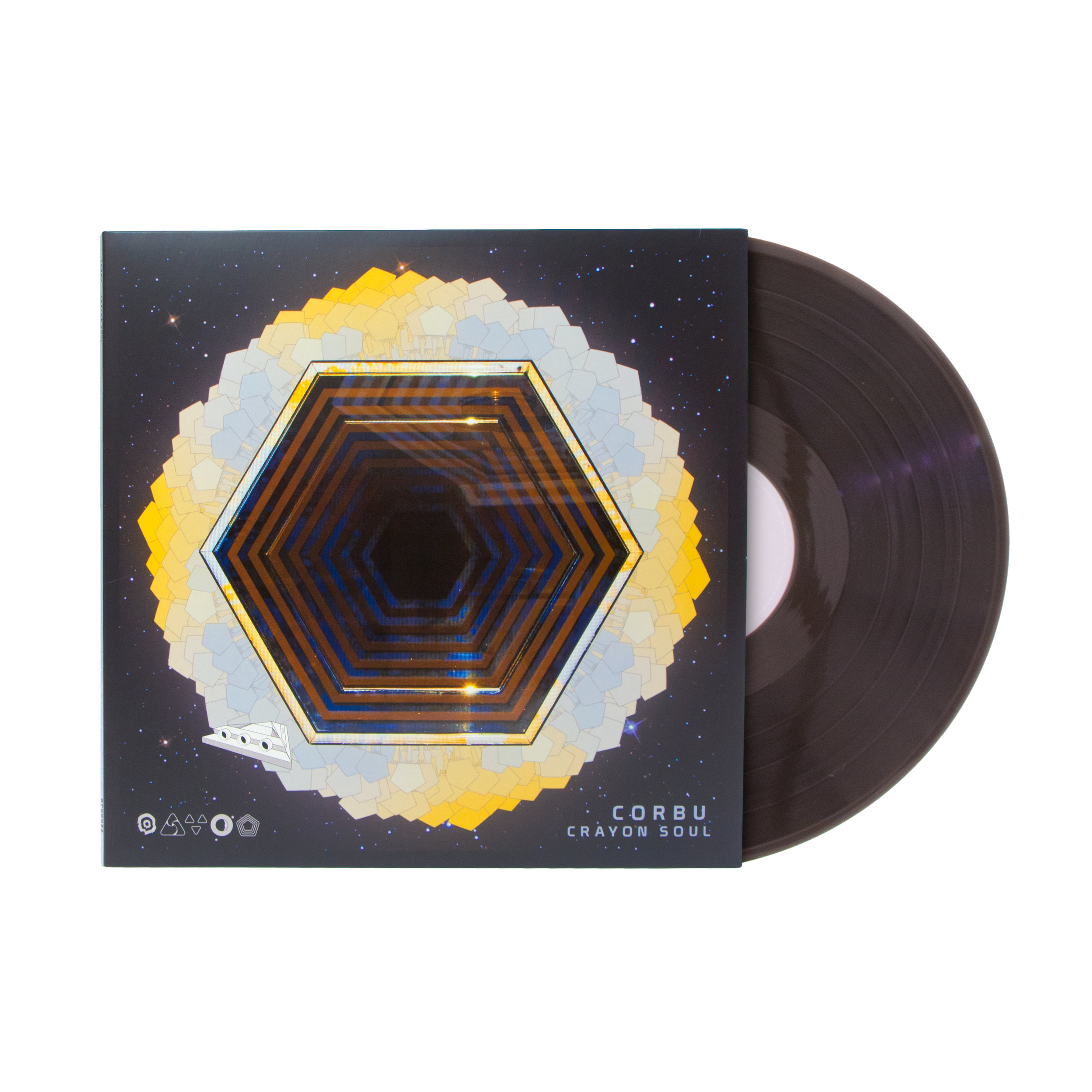 Corbu Crayon Soul Vinyl - Cover with Record.jpg