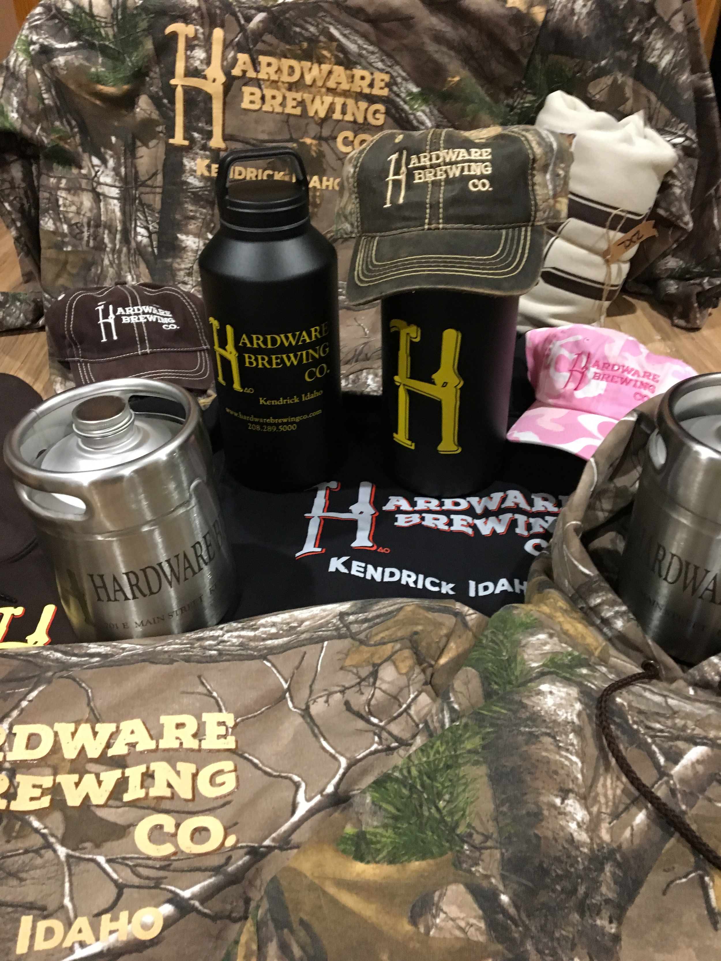 CAMO HOODIES, HATS, AND BEER GEAR IS IN! GREAT FALL GEAR AND CHRISTMAS GIFTS!