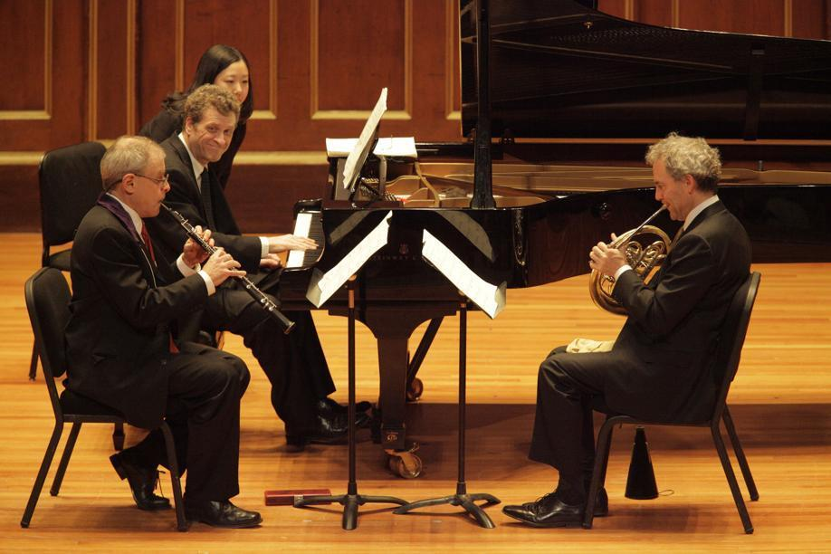 Boston Symphony Chamber Players at Jordan Hall (Photo: Hillary Scott)