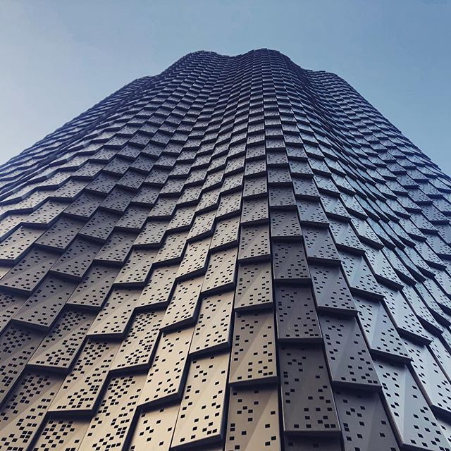 Exciting new building being revealed at Finsbury Square  #excited #retail #hospitality #metal #texture #architecture #archilovers #design #london