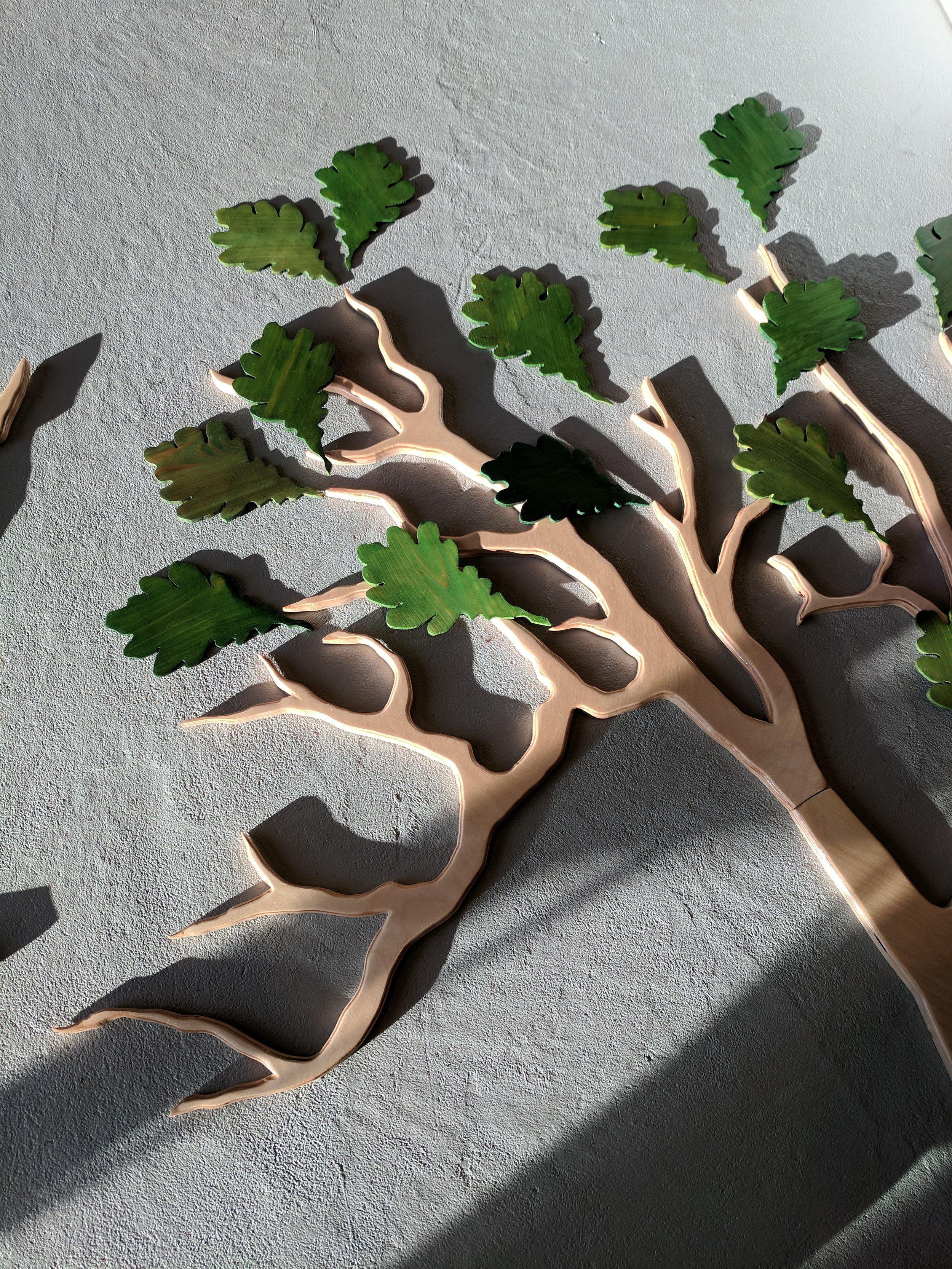 Leaf and limb detail