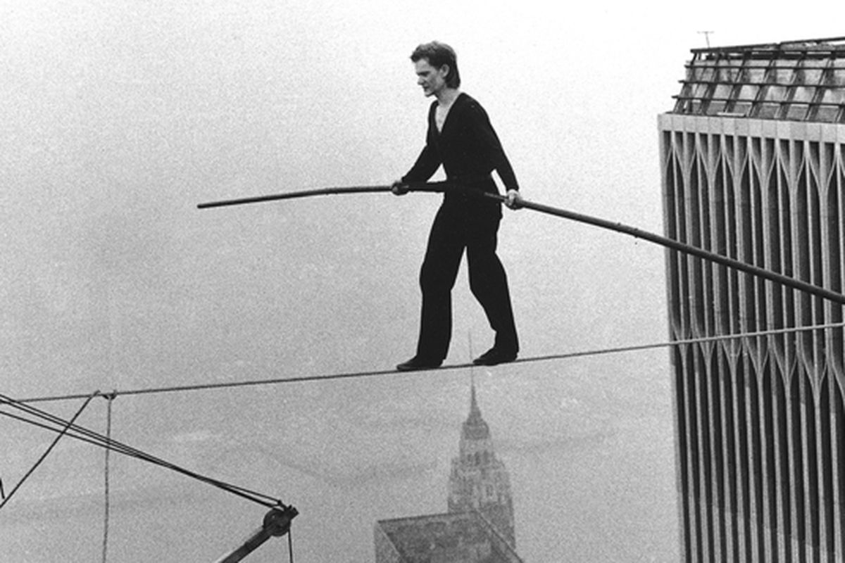 "Philippe Petit - High wire artist Philippe Petit writes, draws, performs close-up magic, practices lock-picking and eighteenth century timber framing, plays chess, studies French wine, gives lectures on creativity, directs theater plays and tightrope master classes, is an accomplished pickpocket, and was once sighted bullfighting in Peru.Petit, author of eleven books, including ""Creativity: The Perfect Crime,"""