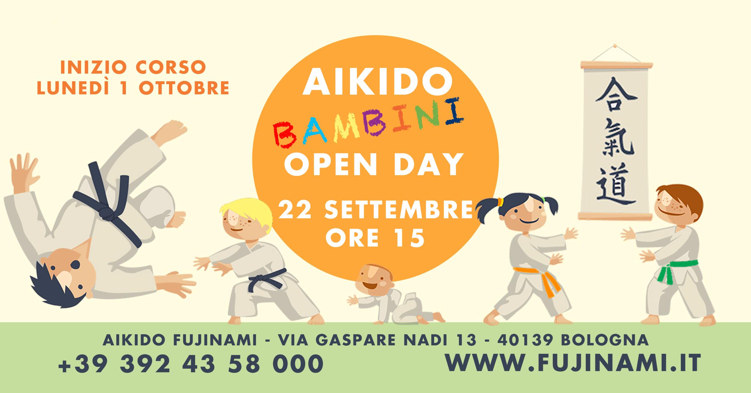 open day bambini 2018