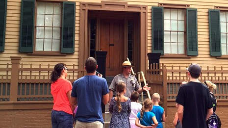 Photo: National Park Service, Lincoln Home National Historic Site Illinois