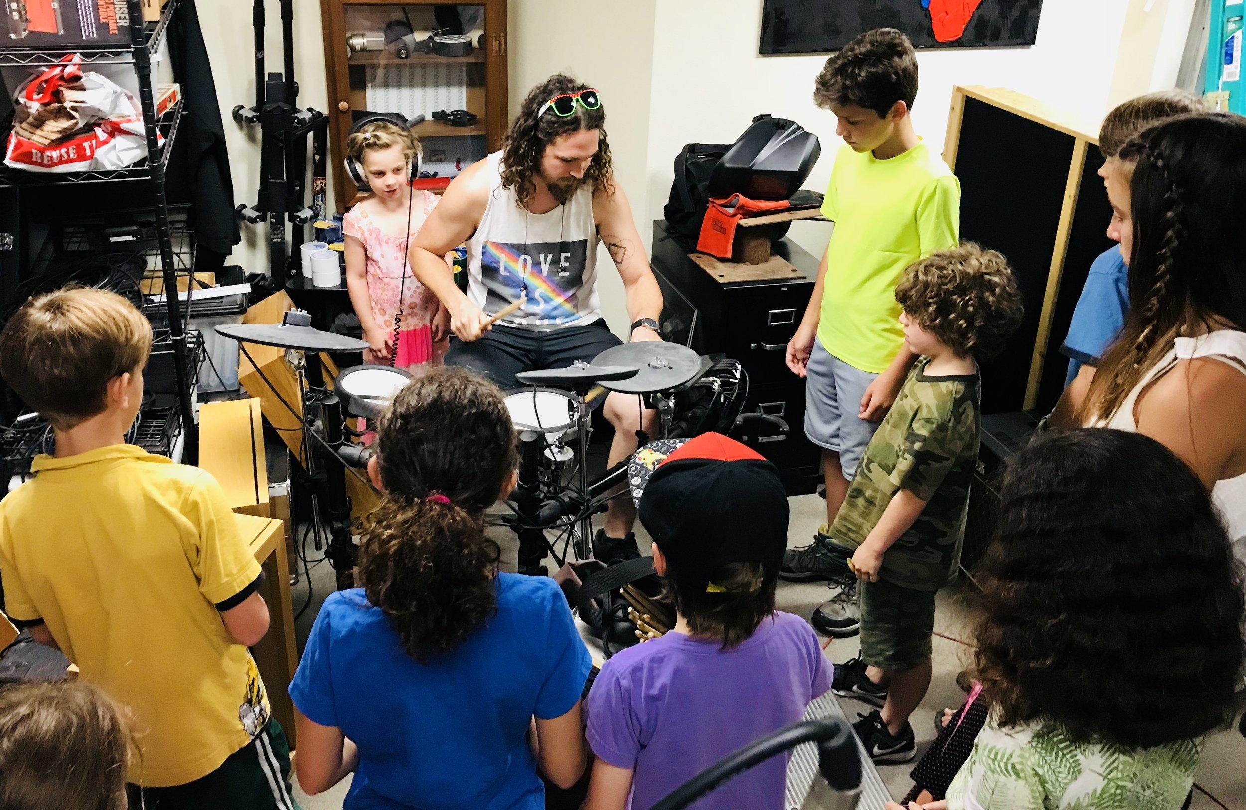 drummer w kids.JPG