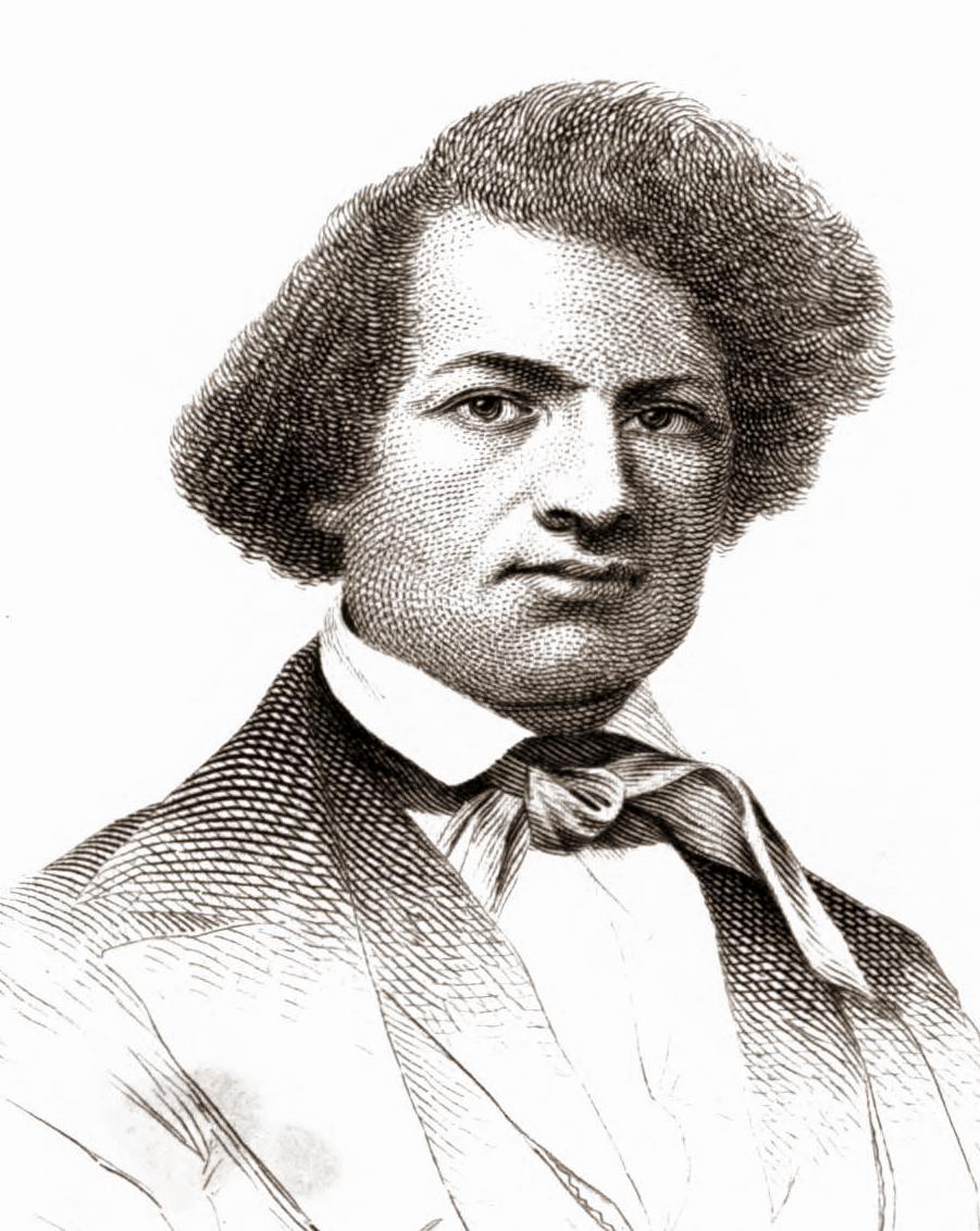 Sketch of Frederick Douglass, 1845
